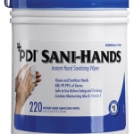 SANI-HANDS ALC Large Canister, 220's, #P15984 Temporarily Unavailable for Order