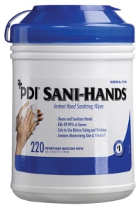 SANI-HANDS ALC Large Canister, 220′s