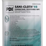 PDI SANI-CLOTH® HB GERMICIDAL DISPOSABLE WIPE, EXTRA LARGE 65'S #Q85484