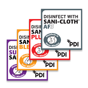 ID System For Clean/ Soiled Equipment, Clean with Sani-Cloth AF Tag #P843SS