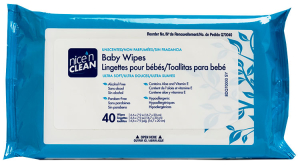 PDI NICE-N-CLEAN® BABY WIPES, UNSCENTED 40'S #Q70040