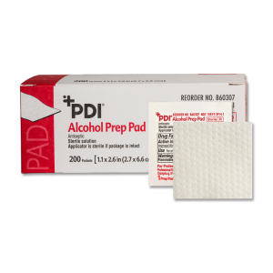 PDI ALCOHOL PREP PAD, MEDIUM, STERILE  #B60307