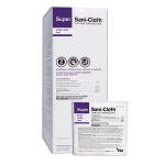 PDI SUPER SANI-CLOTH® GERMICIDAL DISPOSABLE WIPE, EXTRA LARGE, INDV WRAPPED #U87295