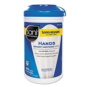 PDI SANI-HANDS® INSTANT HAND SANITIZING WIPES, # P92084
