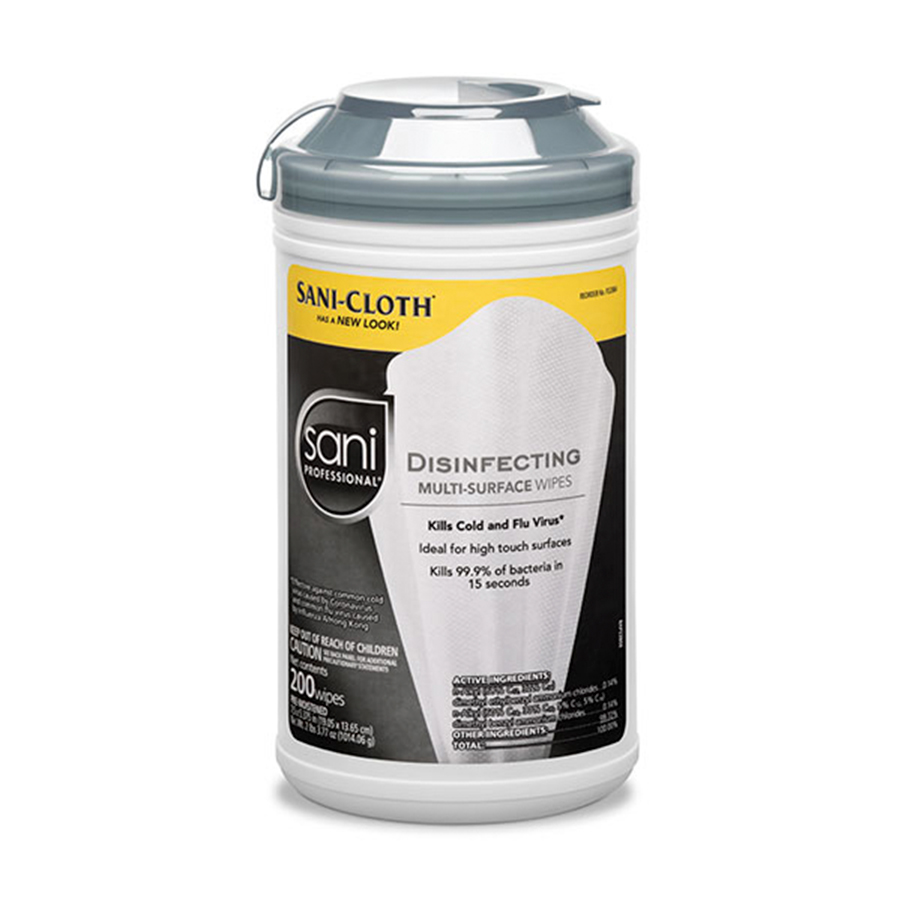 SANI PROFESSIONAL®DISINFECTING MULTI-SURFACE WIPES #P22884